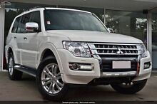 2015 Mitsubishi Pajero NX MY16 GLS Warm White 5 Speed Sports Automatic Wagon Wilson Canning Area Preview