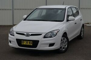 2011 Hyundai i30 FD MY11 SX White 4 Speed Automatic Hatchback Gosford Gosford Area Preview