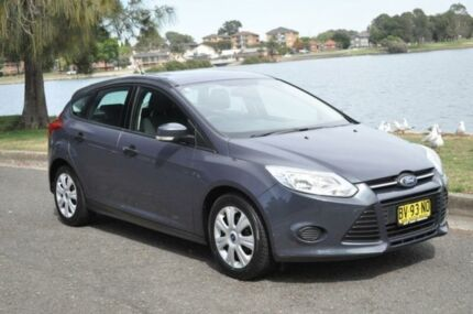 2011 Ford Focus LV MY11 CL Grey 4 Speed Automatic Hatchback