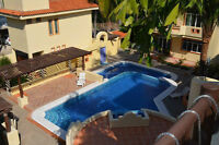 Beautiful Mexican Home for long term rental.Jan to Apr 2016