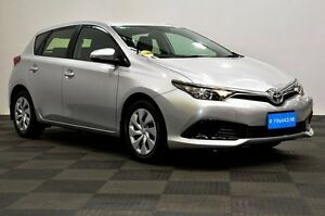 2015 Toyota Corolla ZRE182R Ascent S-CVT Silver 7 Speed Constant Variable Hatchback Edgewater Joondalup Area Preview