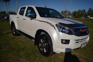 2014 Isuzu D-MAX MY14 X-RUNNER Crew Cab White 5 Speed Sports Automatic Utility Vincent Townsville City Preview