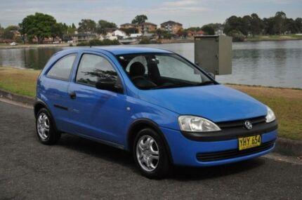 2002 Holden Barina XC Blue 4 Speed Automatic Hatchback