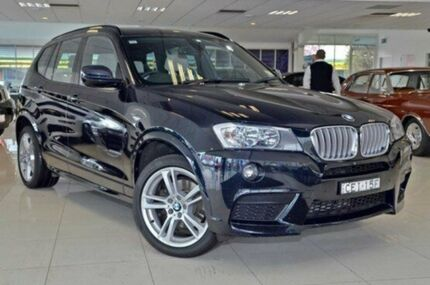 2012 BMW X3 F25 MY0412 xDrive30d Steptronic 8 Speed Automatic Wagon Doveton Casey Area Preview