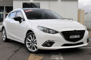 2014 Mazda 3 BM5438 SP25 SKYACTIV-Drive White 6 Speed Sports Automatic Hatchback Gosford Gosford Area Preview