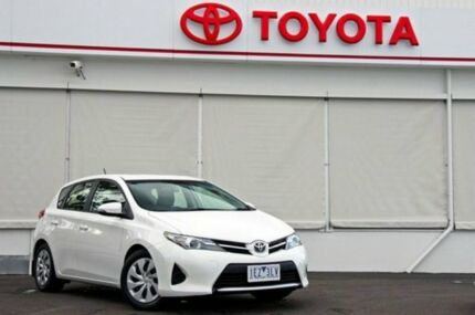 2014 Toyota Corolla ZRE182R Ascent S-CVT Glacier White 7 Speed Constant Variable Hatchback Upper Ferntree Gully Knox Area Preview