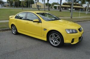 2012 Holden Commodore VE II MY12 SV6 Yellow 6 Speed Sports Automatic Sedan Rockhampton Rockhampton City Preview