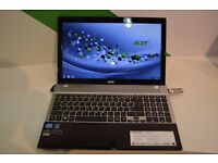LAPTOP VERY POWERFUL I7 QUAD 3.2GHZ 8GB 500GBHDD ACER ASPIRE