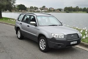 2008 Subaru Forester MY08 X Silver 5 Speed Manual Wagon Croydon Burwood Area Preview