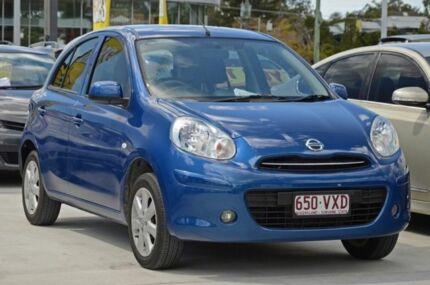 2014 Nissan Micra K13 MY13 ST-L Blue 5 Speed Manual Hatchback Aspley Brisbane North East Preview