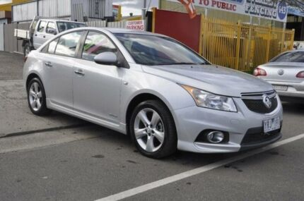 2011 Holden Cruze JH SRi Silver 6 Speed Automatic Sedan Hoppers Crossing Wyndham Area Preview