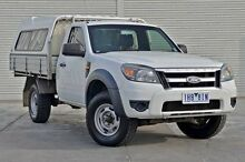 2010 Ford Ranger PK XL White 5 Speed Automatic Cab Chassis Frankston Frankston Area Preview