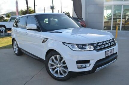 2014 Land Rover Range Rover Sport L494 SDV6 HSE Fuji White 8 Speed Automatic Wagon Garbutt Townsville City Preview
