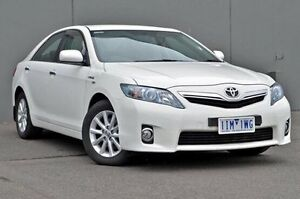 2011 Toyota Camry White Constant Variable Sedan Cranbourne Casey Area Preview