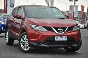 2014 Nissan Qashqai J11 ST Magnetic Red 1 Speed Constant Variable Wagon Knoxfield Knox Area Preview
