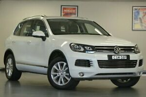 2014 Volkswagen Touareg 7P MY14 150TDI White Semi Auto Wagon Chatswood Willoughby Area Preview