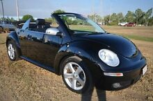 2010 Volkswagen Beetle 1Y MY2010 Black 6 Speed Sports Automatic Cabriolet Vincent Townsville City Preview