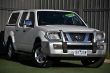 2008 Nissan Navara D40 ST-X White 6 Speed Manual Utility Wantirna South Knox Area Preview