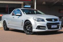 2013 Holden Ute VF MY14 SS V Ute Nitrate Silver 6 Speed Manual Utility Northbridge Perth City Preview