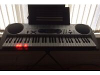 Casio lk 43 light up keyboard with stand