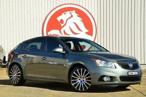 2013 Holden Cruze JH Series II MY14 Equipe Grey 6 Speed Sports Automatic Hatchback Lansvale Liverpool Area Preview