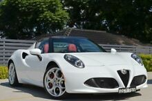 2015 Alfa Romeo 4C  White Auto Dual Clutch Targa Burwood Burwood Area Preview