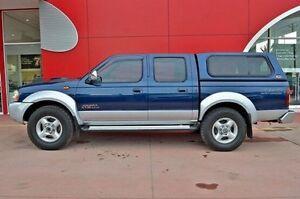 2010 Nissan Navara D22 MY2009 ST-R Blue 5 Speed Manual Utility