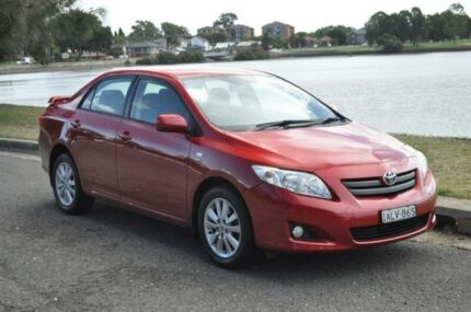 2007 Toyota Corolla ZRE152R Conquest Burgundy 4 Speed Automatic Sedan