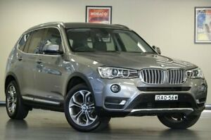 2015 BMW X3 F25 LCI xDrive20d Space Grey Automatic Wagon Chatswood Willoughby Area Preview