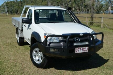 2011 Mazda BT-50 B3000 DX Boss Single Cab Alabaster White 5 Speed Manual Single Cab Berserker Rockhampton City Preview