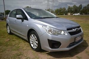 2014 Subaru Impreza G4 MY14 2.0i Lineartronic AWD Silver 6 Speed Constant Variable Hatchback Vincent Townsville City Preview