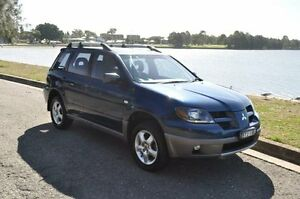 2004 Mitsubishi Outlander ZJ MY14.5 LS (4x4) Blue Continuous Variable Wagon Croydon Burwood Area Preview