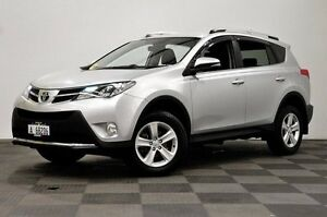2013 Toyota RAV4 ALA49R GXL AWD Silver 6 Speed Sports Automatic Wagon Edgewater Joondalup Area Preview