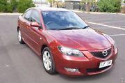 2005 Mazda 3 BK10F1 Maxx Red 5 Speed Manual Sedan Brompton Charles Sturt Area Preview