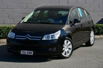 2007 Citroen C4 HDi EGS Black 6 Speed Sports Automatic Single Clutch Hatchback Southport Gold Coast City Preview