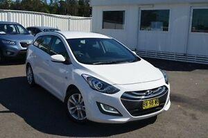 2013 Hyundai i30 GD Active Tourer White 6 Speed Sports Automatic Wagon Gosford Gosford Area Preview