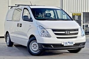 2012 Hyundai iLOAD TQ2-V MY12 Crew Cab White 6 Speed Manual Van Seaford Frankston Area Preview