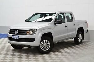 2016 Volkswagen Amarok 2H MY16 TDI420 Core Edition (4x4) Silver 8 Speed Automatic Dual Cab Utility Morley Bayswater Area Preview