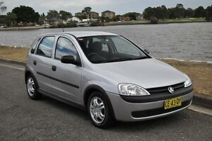 2001 Holden Barina XC Silver 4 Speed Automatic Hatchback Croydon Burwood Area Preview