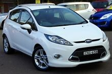 2013 Ford Fiesta WT Zetec White 5 Speed Manual Hatchback Blacktown Blacktown Area Preview