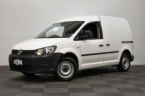 2011 Volkswagen Caddy 2KN MY11 TSI160 SWB White 5 Speed Manual Van Edgewater Joondalup Area Preview