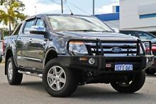 2013 Ford Ranger PX XLT Double Cab Grey 6 Speed Sports Automatic Utility Myaree Melville Area Preview