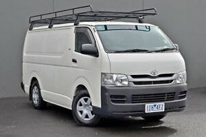 2009 Toyota Hiace White Automatic Van Cranbourne Casey Area Preview