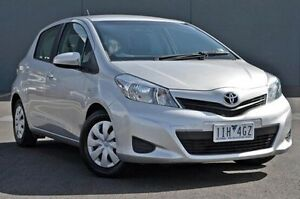 2014 Toyota Yaris Silver Automatic Hatchback Cranbourne Casey Area Preview