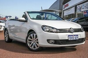 2011 Volkswagen Golf VI MY12 118TSI White 6 Speed Manual Cabriolet Wangara Wanneroo Area Preview