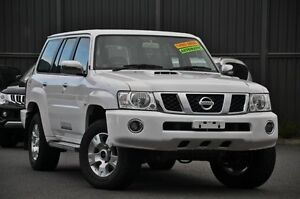 2012 Nissan Patrol Y61 GU 8 ST White 4 Speed Automatic Wagon Knoxfield Knox Area Preview