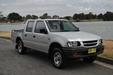 2000 Holden Rodeo TFR9 LX Silver 4 Speed Automatic Crew Cab P/Up