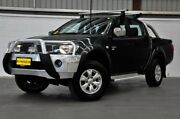 2012 Mitsubishi Triton MN MY12 GL-R Double Cab Grey 5 Speed Manual Utility Thornlie Gosnells Area Preview