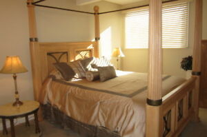 2 Bed Condo Oakridge fully furnished-serviced $2200. All include