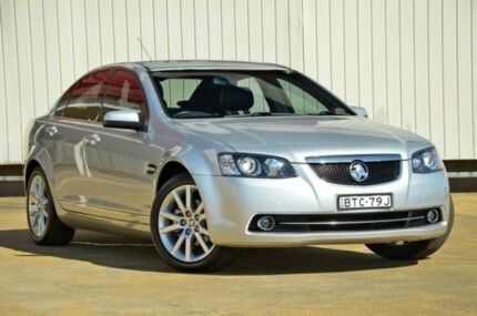 2010 Holden Calais VE MY10 Silver 6 Speed Auto Seq Sportshift Sedan Lansvale Liverpool Area Preview